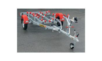 Remorques pour bateaux à moteur de 325 à 800kg